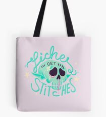 Liches get stitches Tote Bag