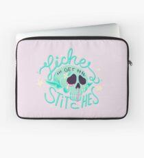 Liches get stitches Laptop Sleeve