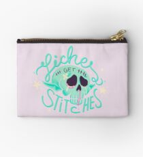 Liches get stitches Studio Pouch