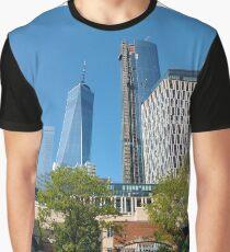 Commercial building, Dark flower, #CommercialBuilding, #Dark, #Flower, #DarkFlower, #building Graphic T-Shirt