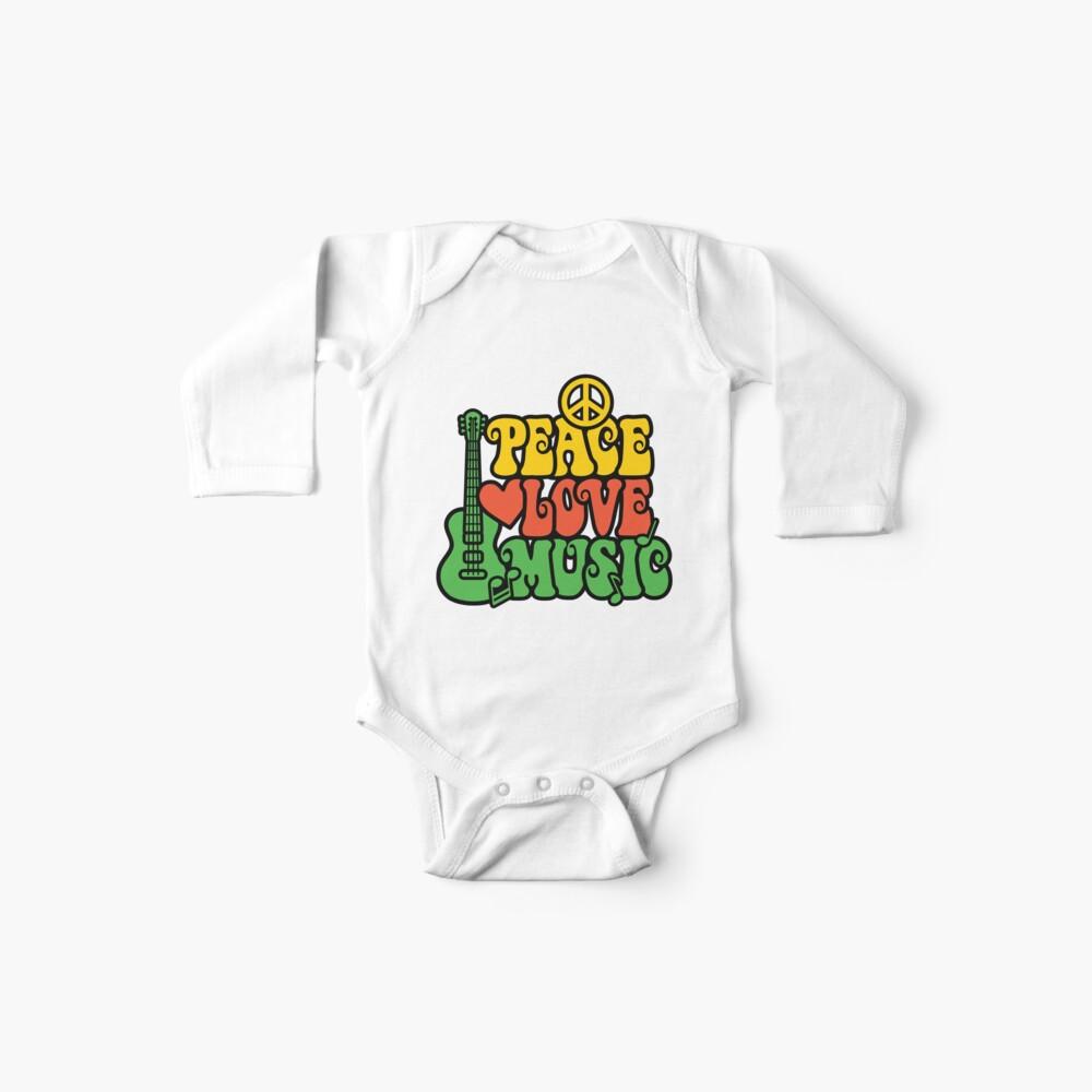 Reggae Peace-Love-Musik Baby Bodys