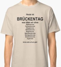 German wordgame for Brückentag Classic T-Shirt
