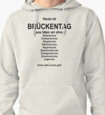 German wordgame for Brückentag Pullover Hoodie