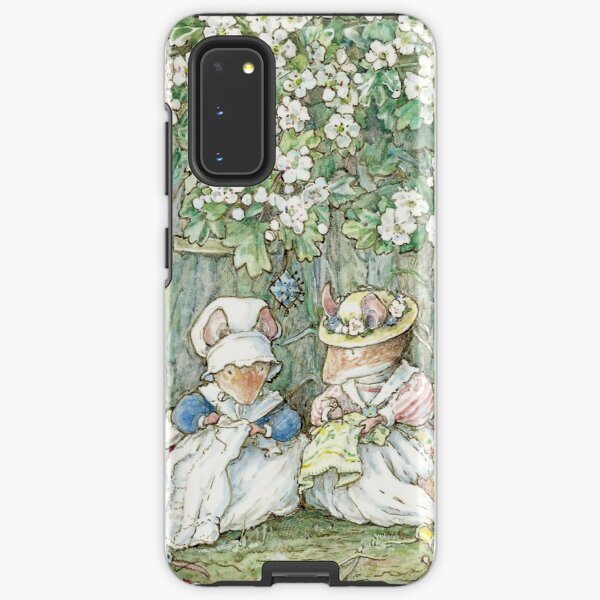 Brambly Hedge - Hawthorn blossom and babies Samsung Galaxy Tough Case