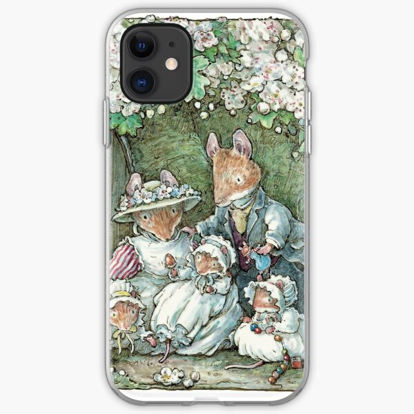 Brambly Hedge - Poppy Dusty and babies iPhone Soft Case