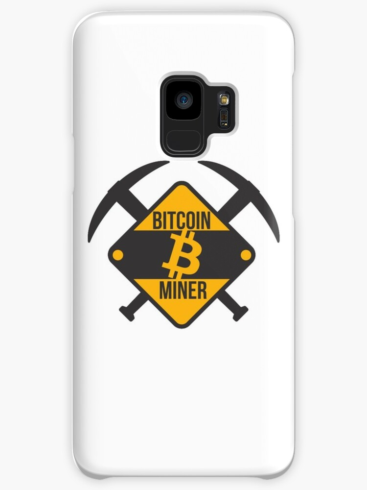 'Bitcoin Miner' Case/Skin for Samsung Galaxy by goodspy