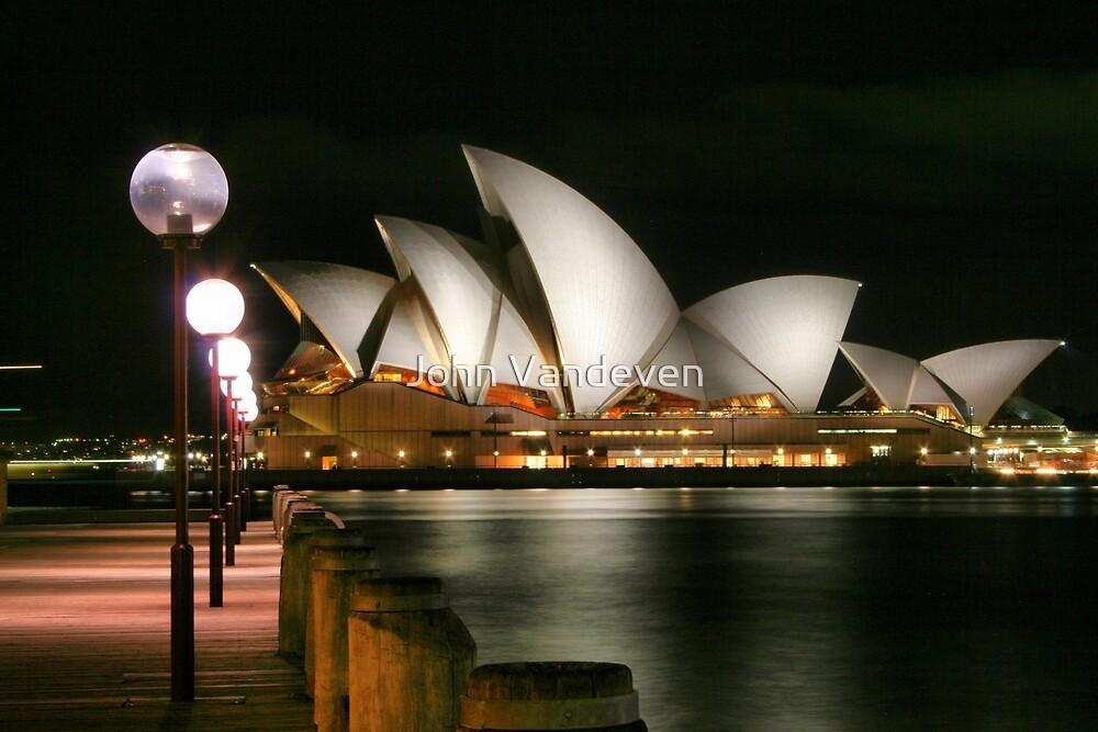 Sydney at night 17 by John Vandeven