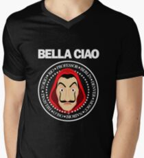 La casa de Papel Men's V-Neck T-Shirt