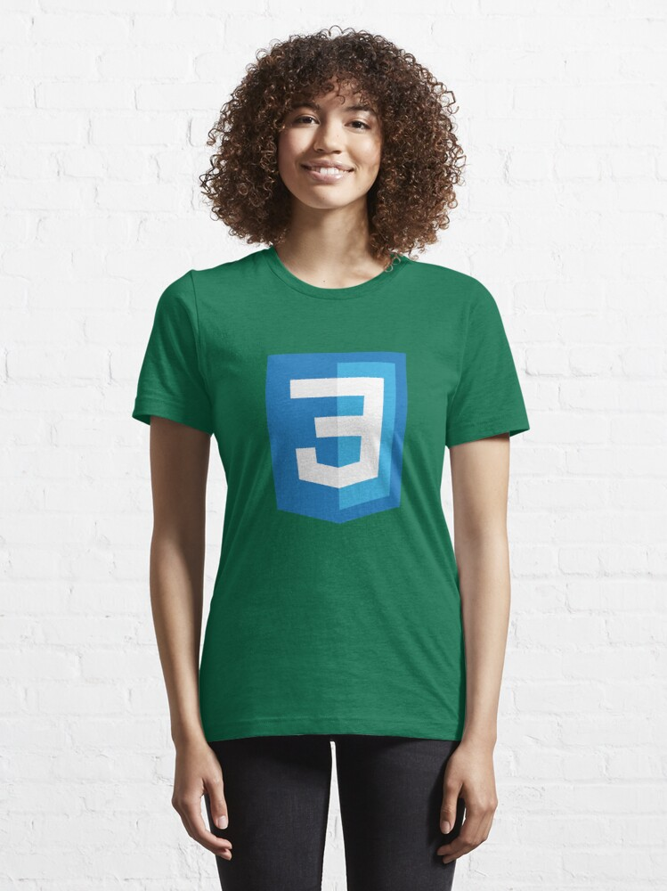 Alternate view of Silicon Valley - CSS3 Logo Essential T-Shirt