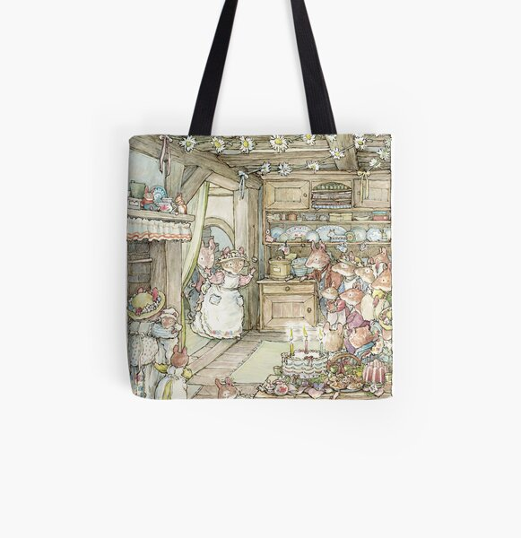 Surprise at Mayblossom cottage All Over Print Tote Bag