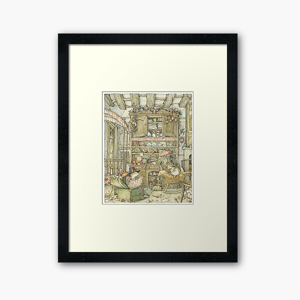 Dressing up at the Old Oak Palace Framed Art Print