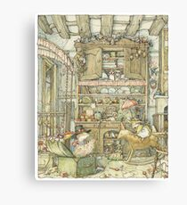 Dressing up at the Old Oak Palace Canvas Print