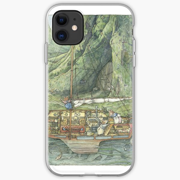Cutaway of Dustys Boat iPhone Soft Case
