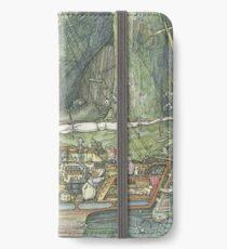 Cutaway of Dustys Boat iPhone Wallet/Case/Skin