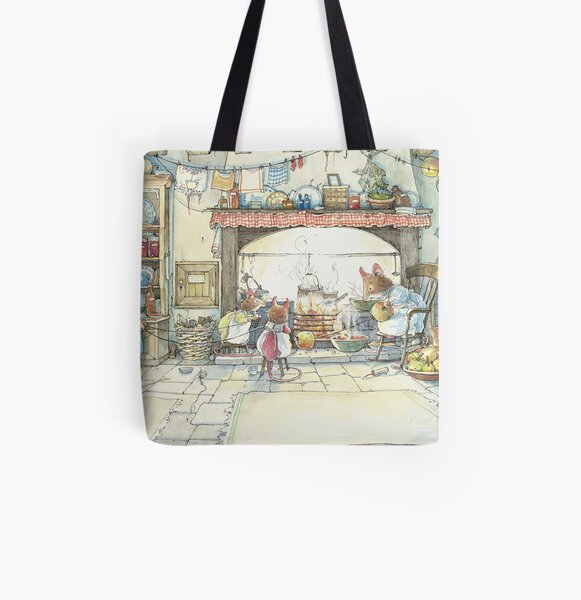 The Kitchen At Crabapple Cottage All Over Print Tote Bag