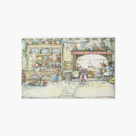 The Kitchen At Crabapple Cottage Art Board Print