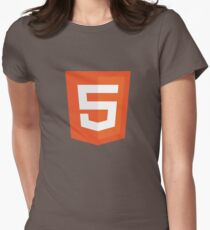 Silicon Valley - HTML5 Logo Womens Fitted T-Shirt