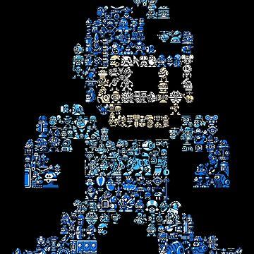 Blue Sprite Bomber by nextodie