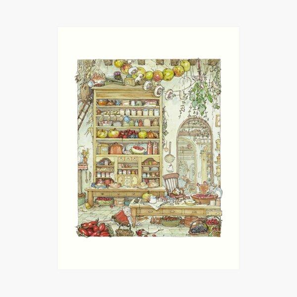 The Palace Kitchen Art Print