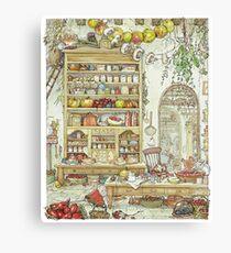 The Palace Kitchen Canvas Print