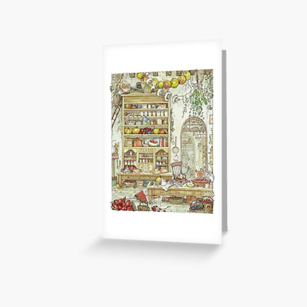 The Palace Kitchen Greeting Card