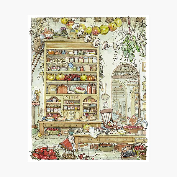 The Palace Kitchen Photographic Print
