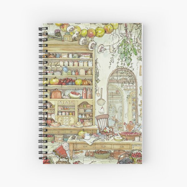 The Palace Kitchen Spiral Notebook
