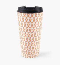 Womb Cancer Ribbons Travel Mug