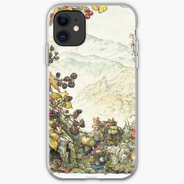 Walk to the High Hills iPhone Soft Case