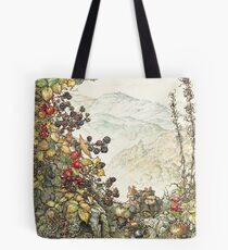 Walk to the High Hills Tote Bag