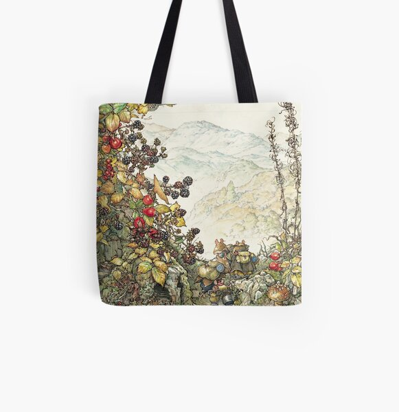 Walk to the High Hills All Over Print Tote Bag