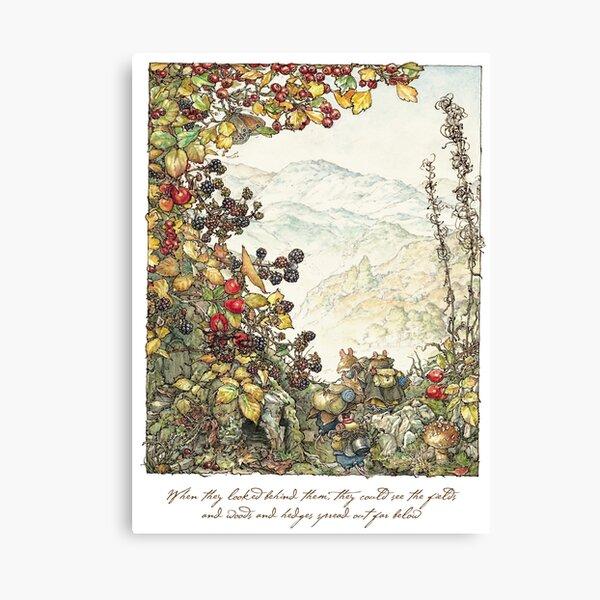 Walk to the High Hills Canvas Print