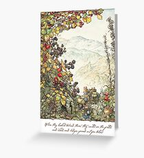 Walk to the High Hills Greeting Card