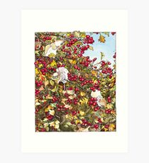 The Blackthorn Bush Art Print