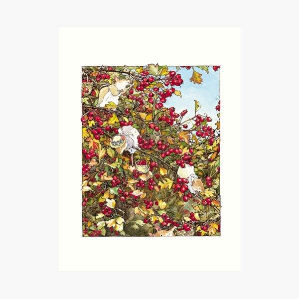 The Blackthorn Bush Art Print