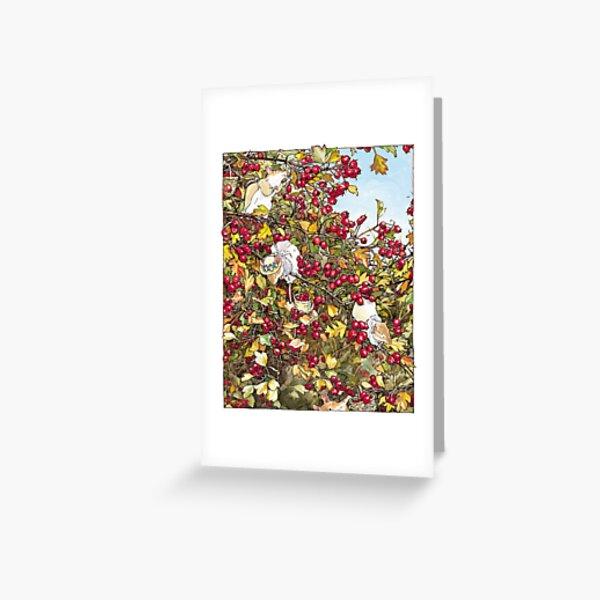 The Blackthorn Bush Greeting Card
