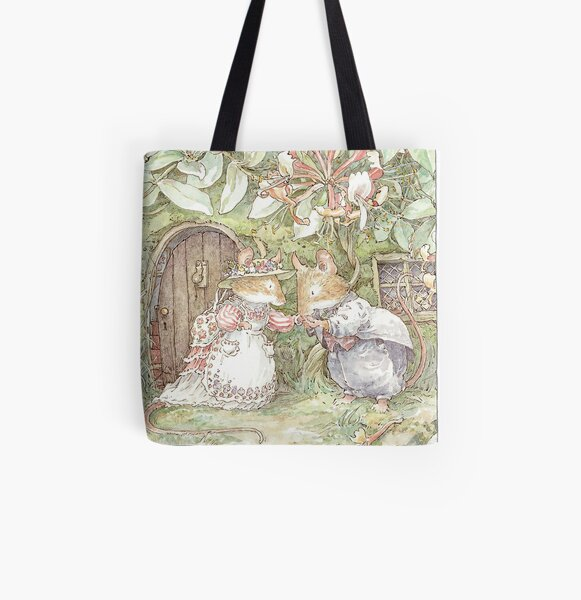 The Wedding Day Dawned At Last All Over Print Tote Bag