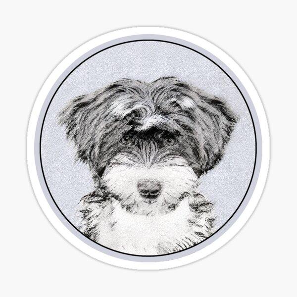 Tibetan Terrier Sticker