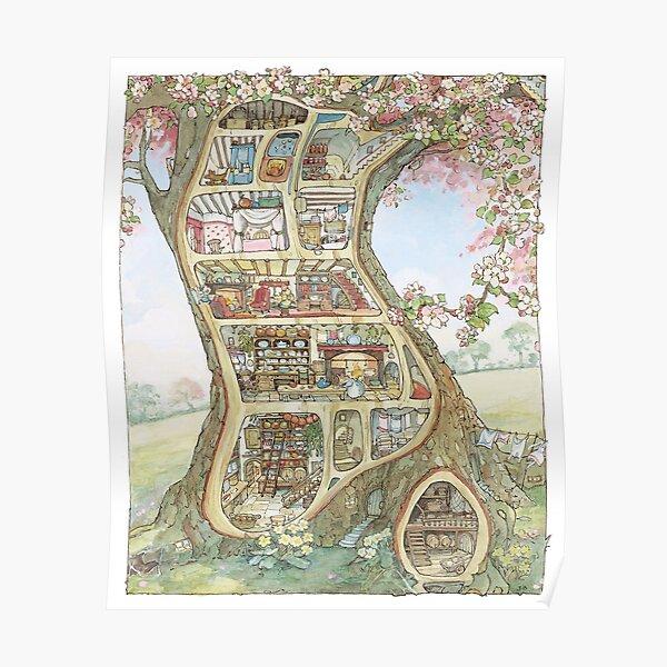 Crabapple Cottage Poster