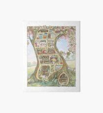 Crabapple Cottage Art Board