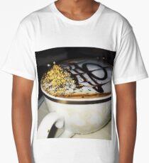 Golden Coffee Long T-Shirt