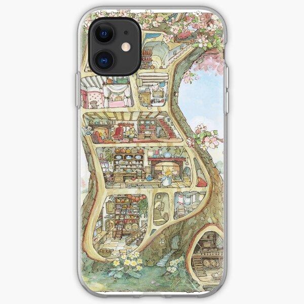 Crabapple Cottage iPhone Soft Case