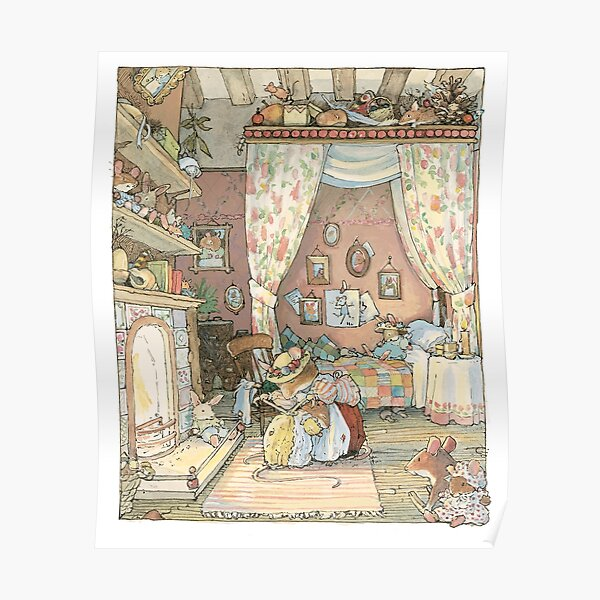 Lady Woodmouse gets Primrose ready for bed Poster