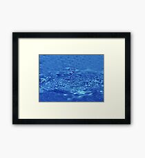 Drop of fresh water Framed Print