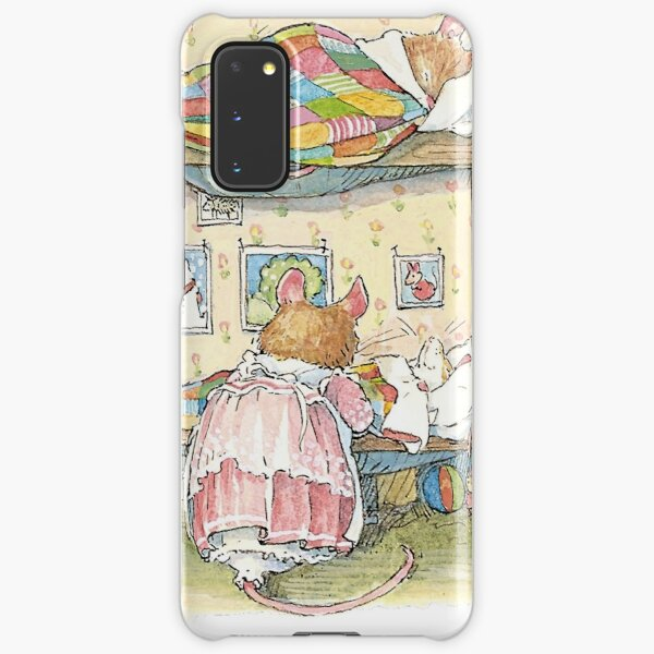 Lady Woodmouse gets the little mice into bed Samsung Galaxy Snap Case