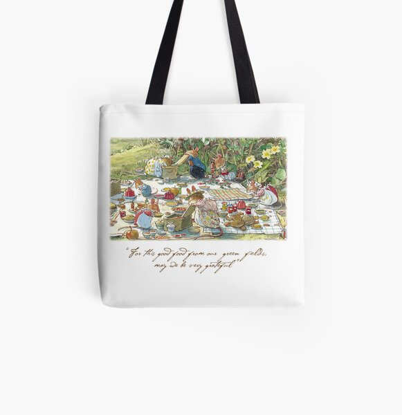 Picnic time All Over Print Tote Bag