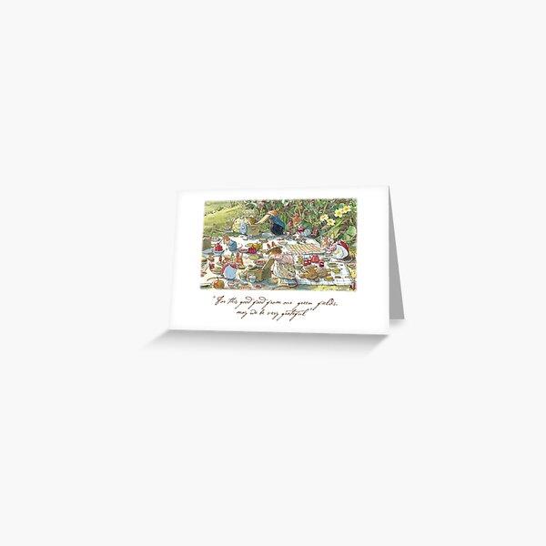 Picnic time Greeting Card