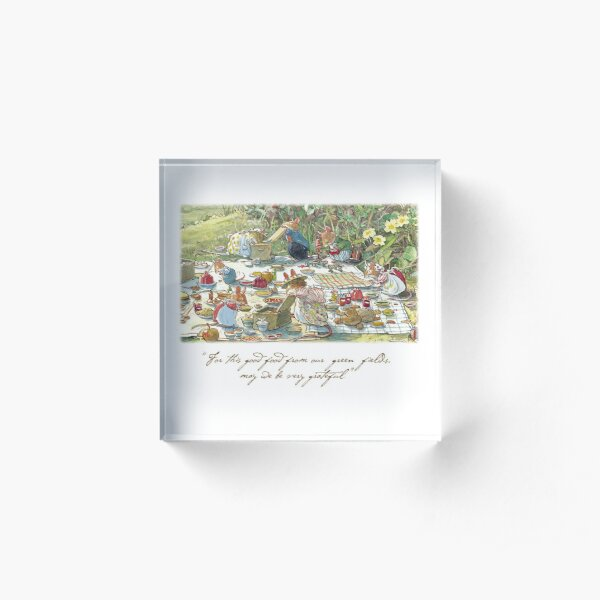 Picnic time Acrylic Block