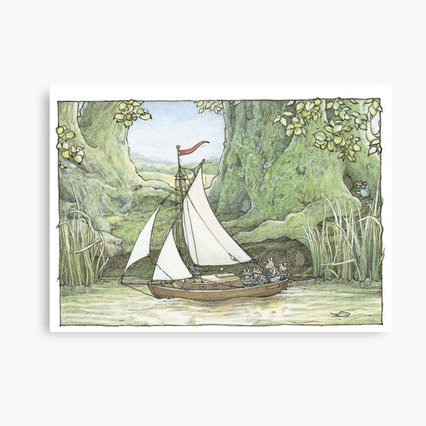 Sea Story Canvas Print