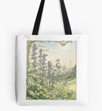 On the way to the Store Stump Tote Bag